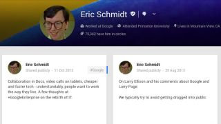 Holy Schmidt! Internet nonplussed by Google+ Ad Fuss