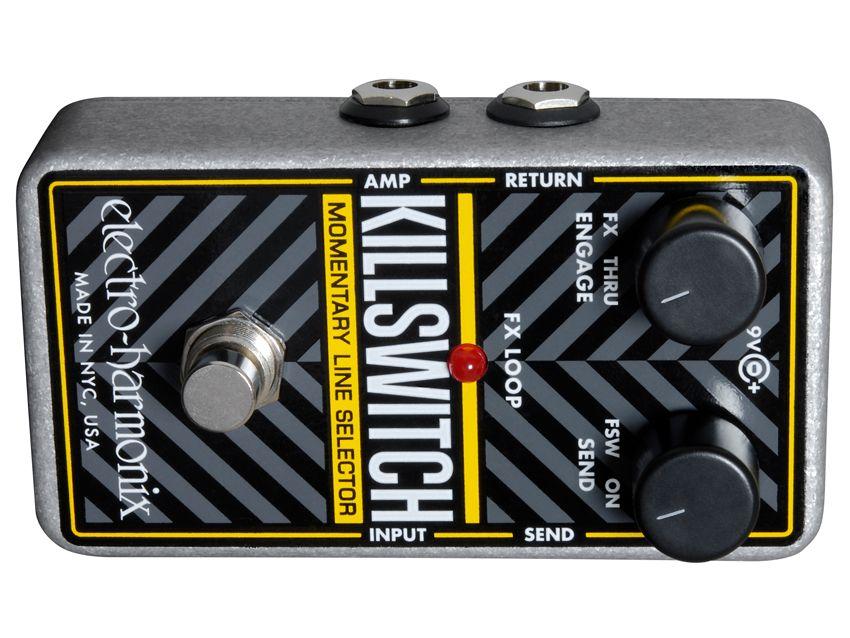 namm 2011 electro harmonix killswitch pedal unveiled musicradar. Black Bedroom Furniture Sets. Home Design Ideas