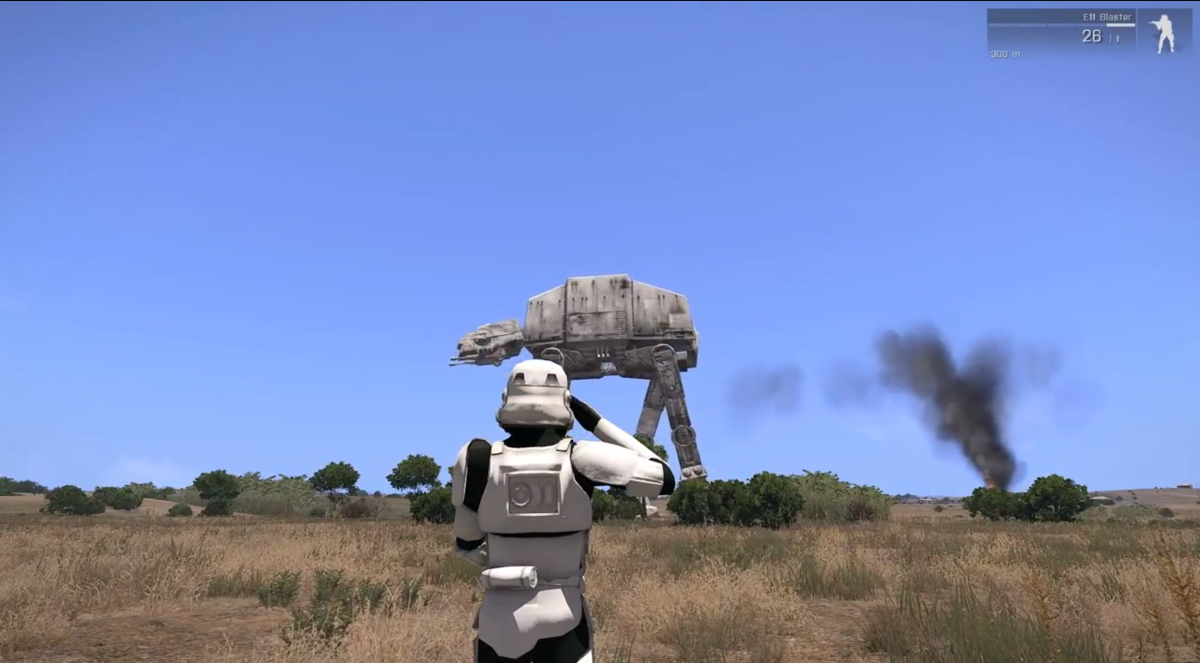 This Imperial AT-AT Case Mod Will Blow