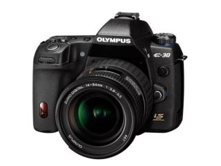 Olympus unveils its first Micro Four Thirds camera, E-30
