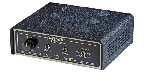 The CabClone has three functions: a load box, a speaker emulator and a balanced DI output