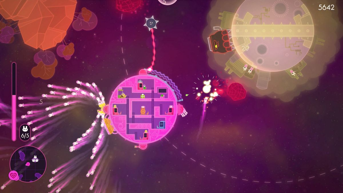 Lovers In A Dangerous Spacetime Is Like Playing Mario Inside Ftl