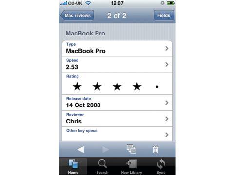 Bento iPhone
