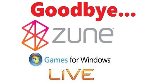 Microsoft closing up shop on Games for Windows Live, Zune