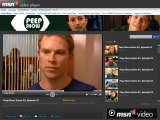 MSN Video Player - Peep Show