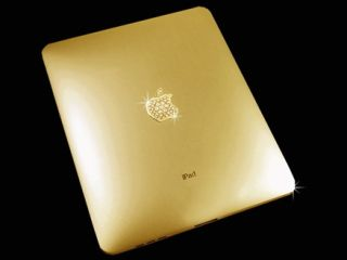 Gold iPad. £130,000. Hurry! Only ten available!