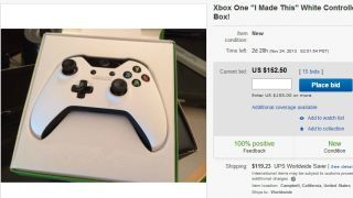 You can go bid on a white Xbox One controller