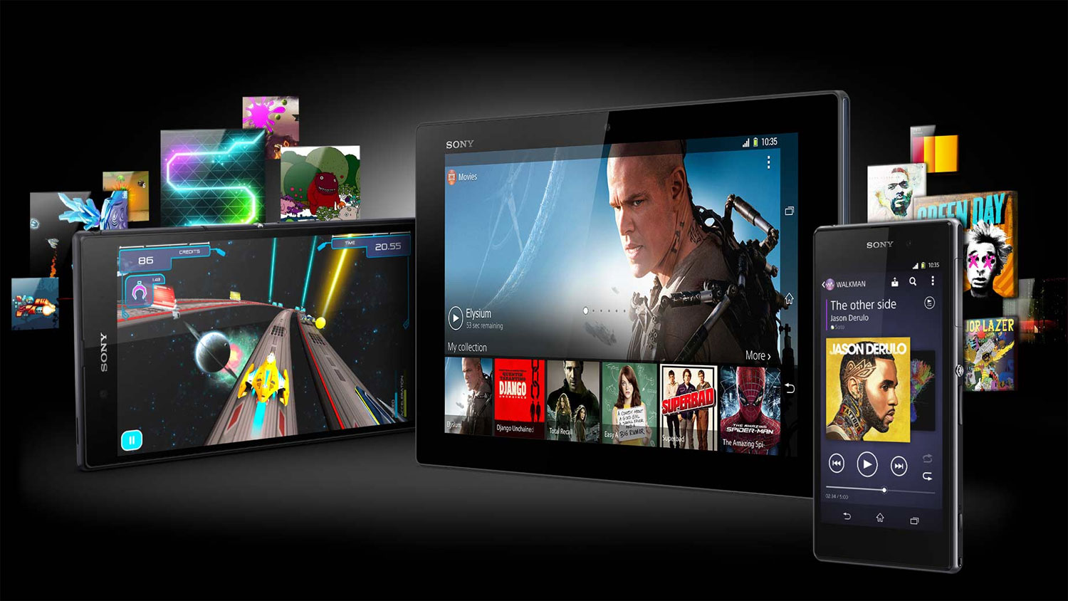 Free games and movies for Xperia Z1, Z Ultra and Tablet Z