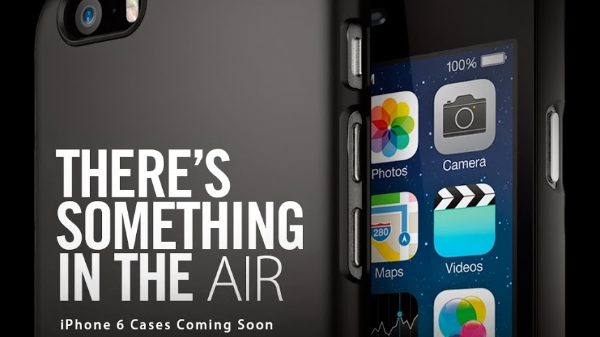 Case Maker Outs The 5 5 Inch Iphone 6 As The Iphone Air Techradar