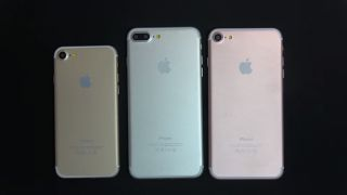 Three iPhone mock-ups