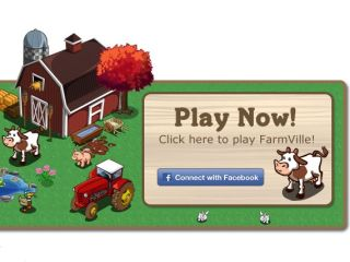 FarmVille - staying put on Facebook