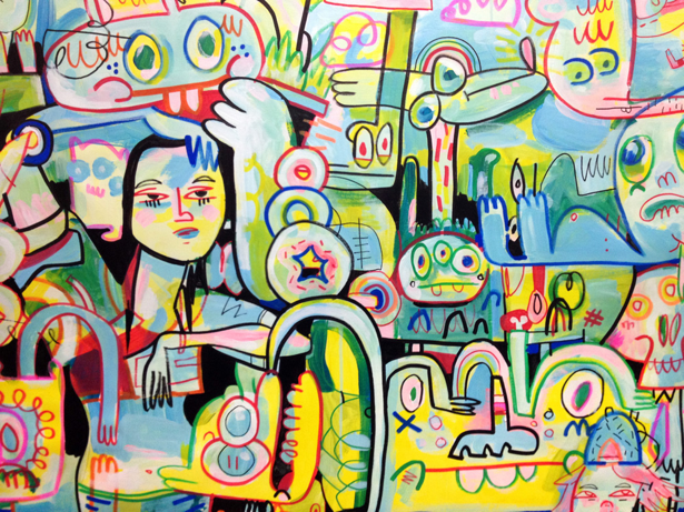 Image Of The Day Hot Dogs And Hot Girls By Jon Burgerman -9625