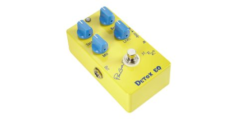 Dialling back the level pedal will take the edge off distorted tones