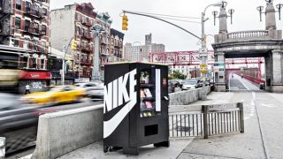 Spend your Nikefuel on Nikeswag at this fitness-friendly vending machine