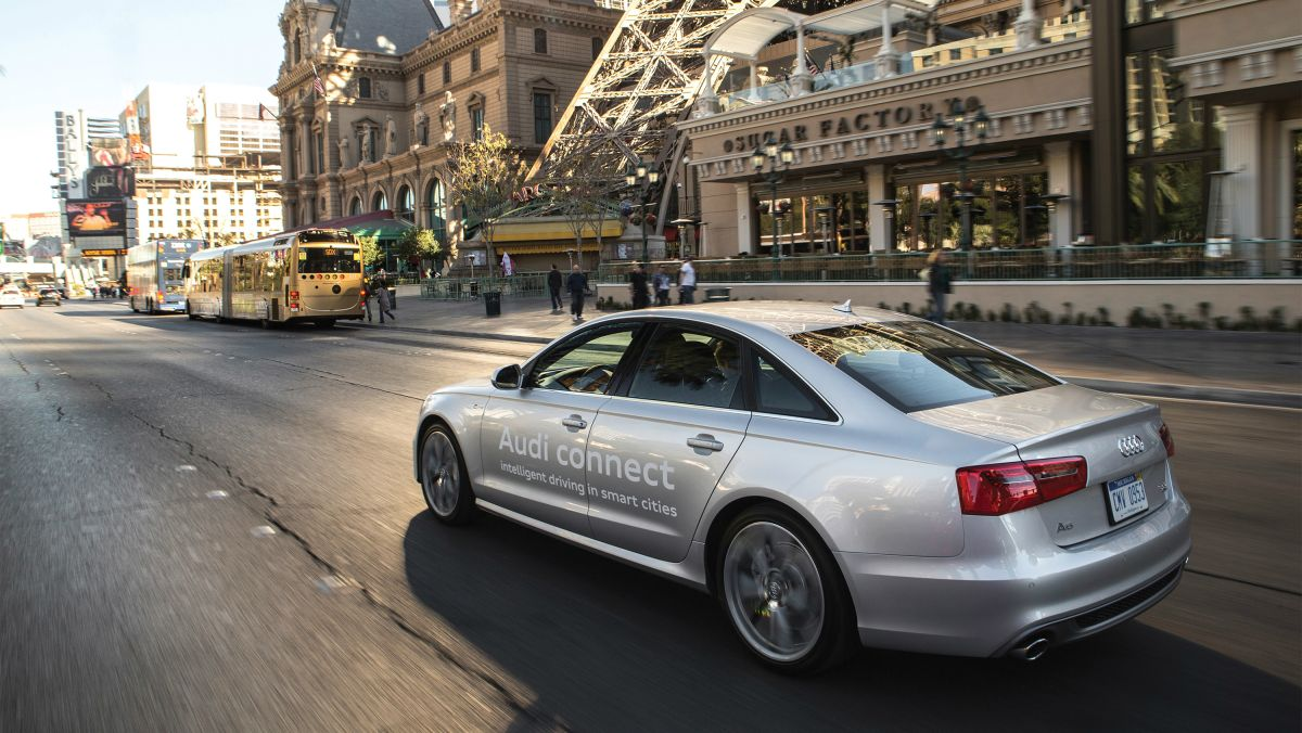 Audi Piloted Driving >> Audi promises driverless cars by 2016 | TechRadar