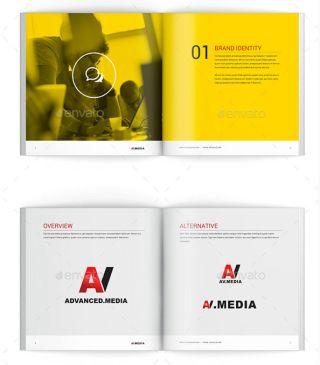 Best brochure templates Brand identity