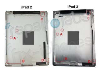 Leaked iPad 3 casing suggests bigger battery better screen