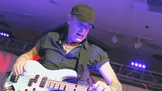 Good times bad times for bass star Billy Sheehan the touring life brings them both
