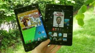 Google Nexus 7 (2013) vs Amazon Kindle Fire HDX 7