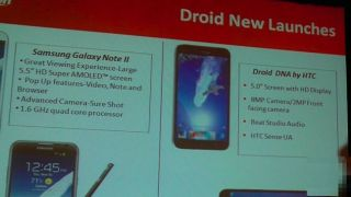Droid DNA listing