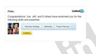 LinkedIn launches one-click Endorsements