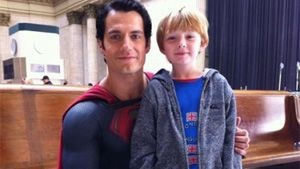 New Man Of Steel image emerges