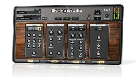 While the new interface is easier on the eye, its larger knobs mean that the various synthesis sections are split over multiple panels