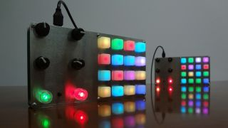 Warrior's dance: the new MIDI controller from Tomash Ghzegovskyy
