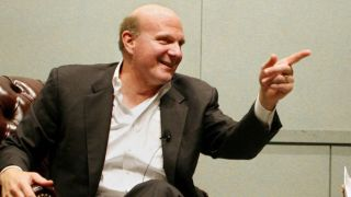Steve Ballmer thinks high market cap Apple is a low volume player