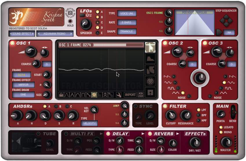 Devine Machine Krishna Synth Musicradar
