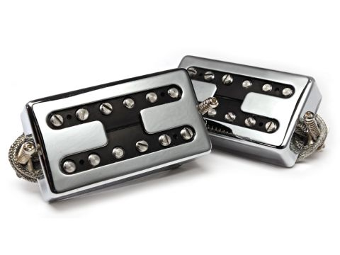 The Creamery offers a range of different covers for the Wide Range pickups, or you can specify open coils for an old-school vibe.