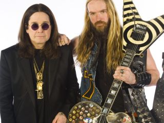 Ozzy and Zakk: rat's arse not pictured