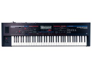 The Juno-Stage certainly has the look of a classic Roland keyboard