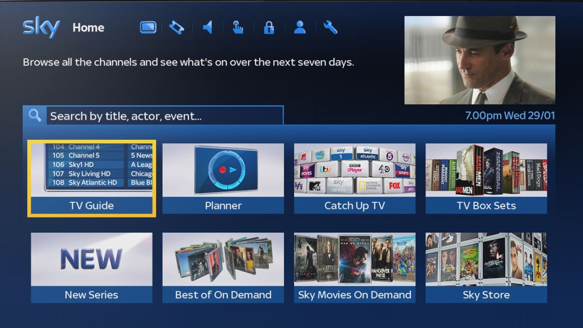 Sky On Demand Geräteliste