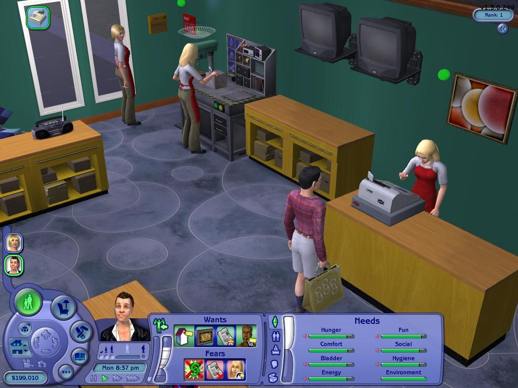 Sims 2 sign up game