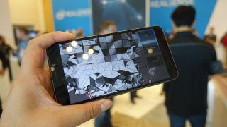 RealSense 3D camera phone