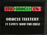 Oracle TV news in the good old days