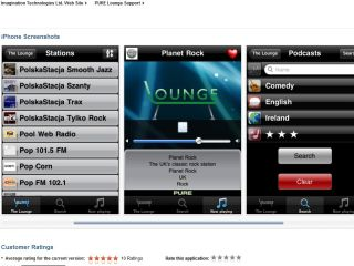 Pure launches new 'Lounge' app for internet radio fans with iPhone, iPads or iPod touches