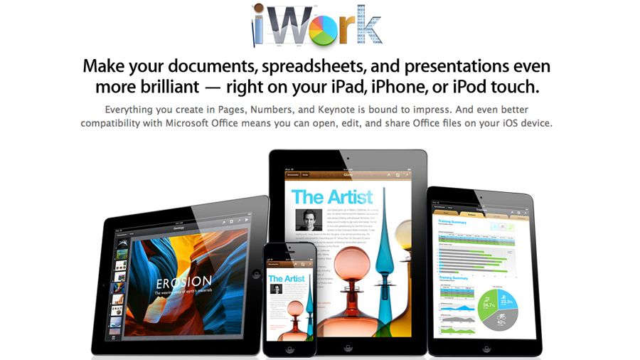 Apple makes iWork apps free on all 'new' iOS devices | TechRadar