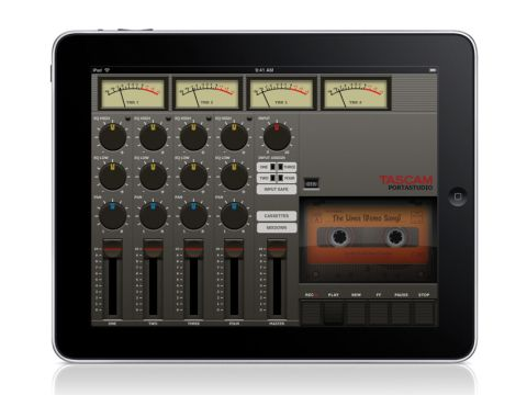 Portastudio for iPad is a fantastically retro app.