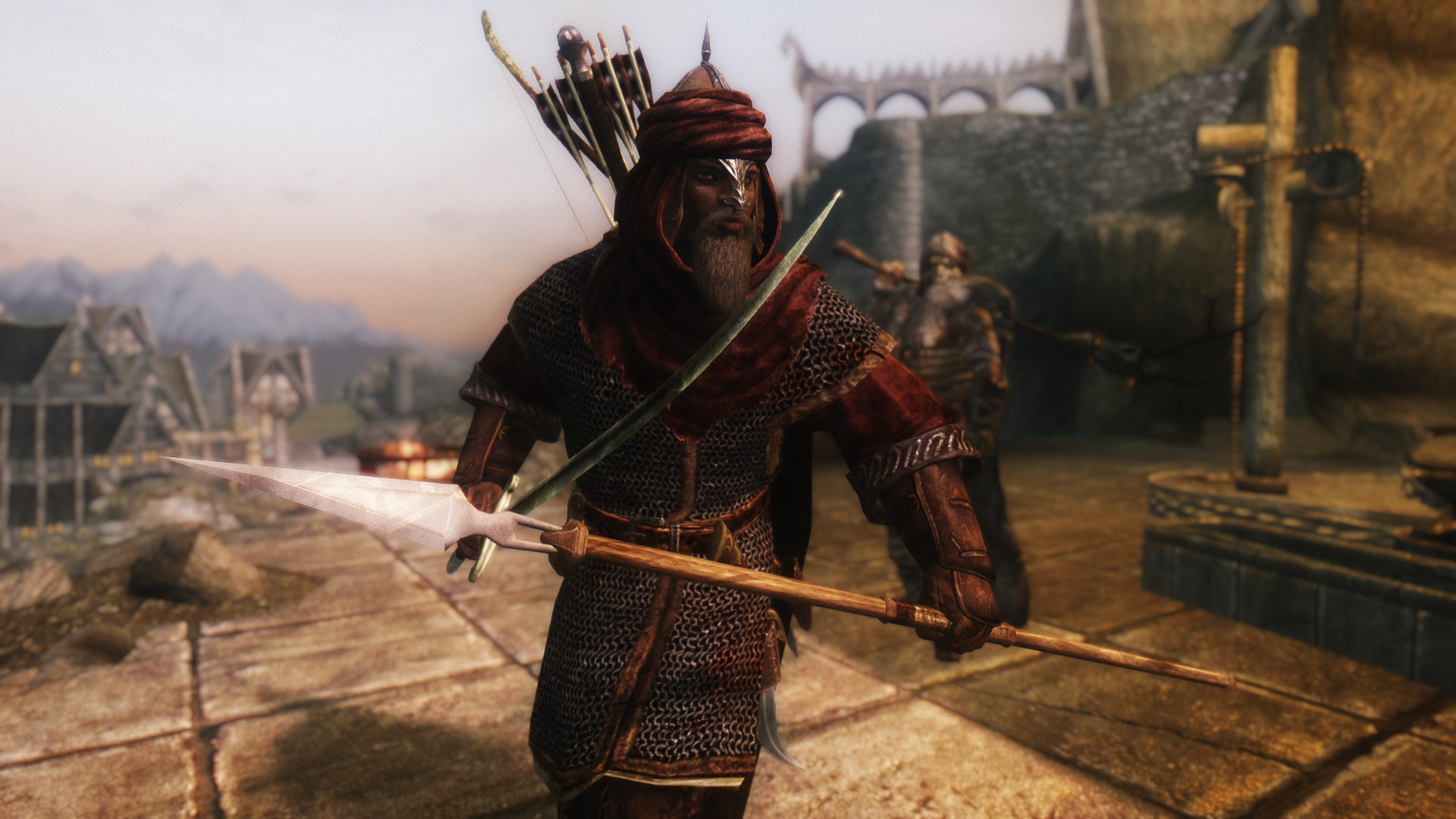 the best skyrim mods: immersive weapons