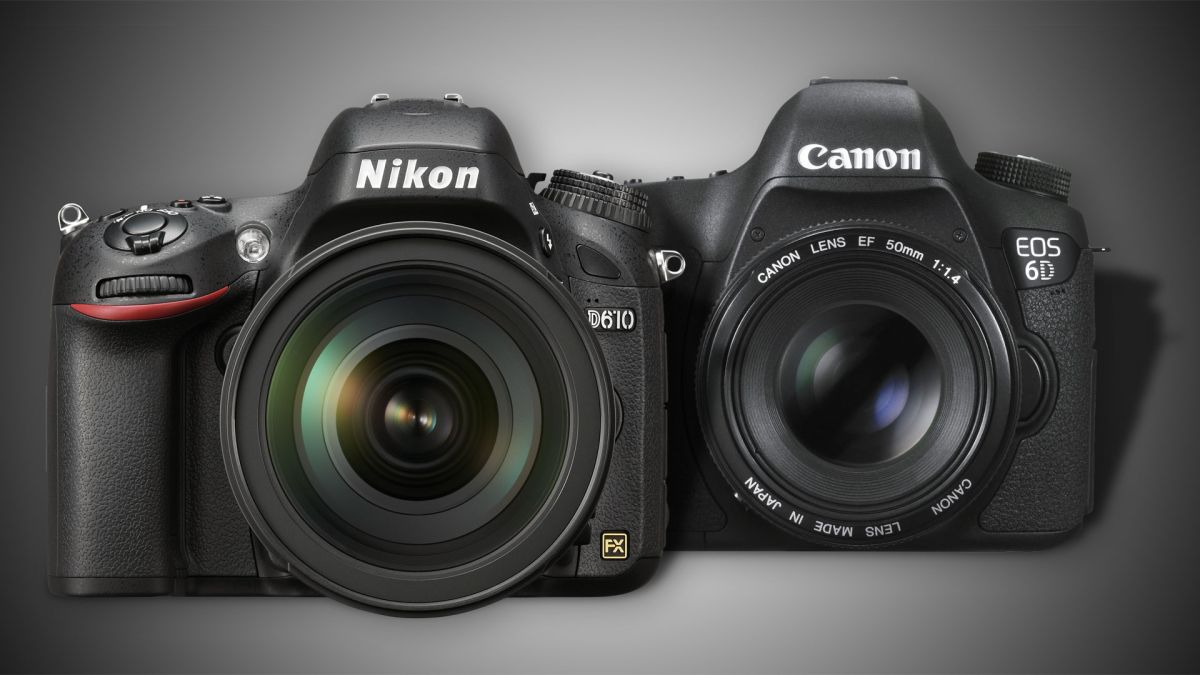 Nikon D610 vs Canon 6D: best full frame DSLR on a budget