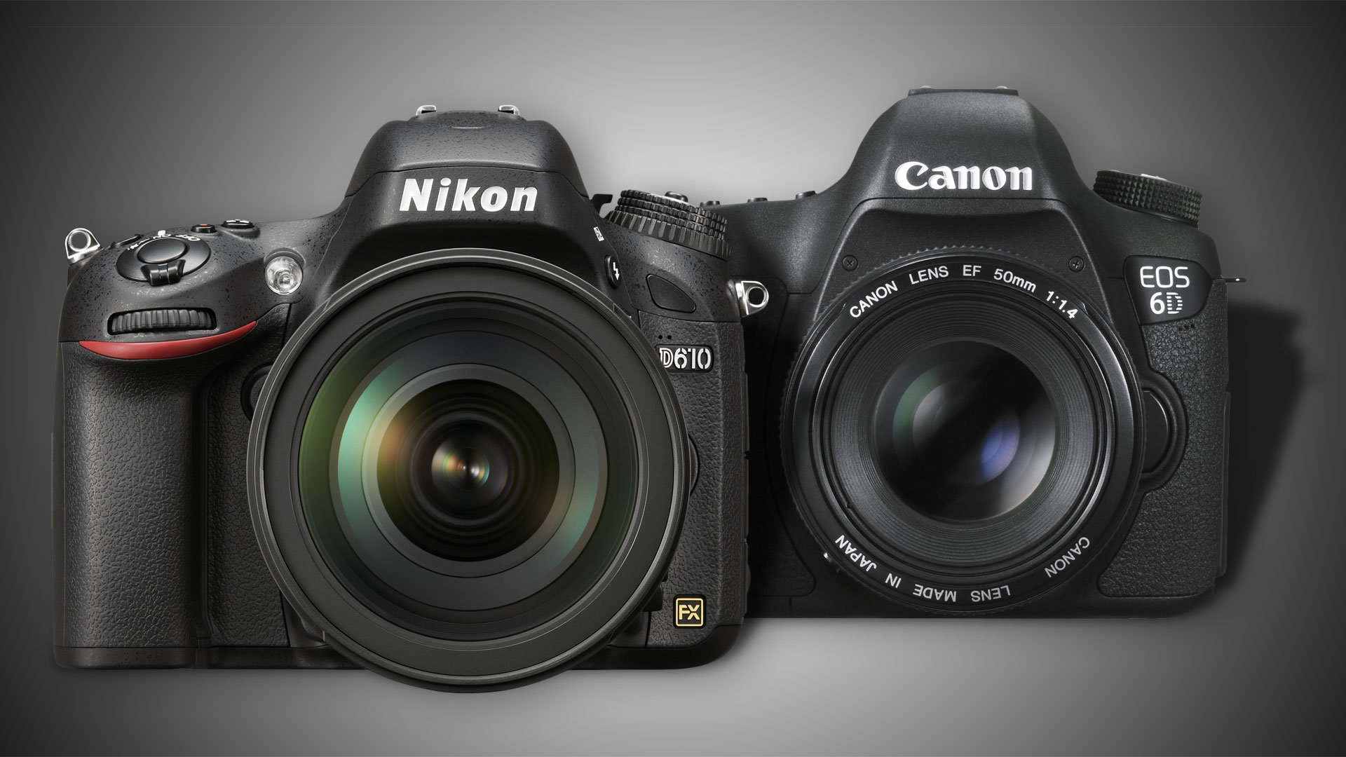 Nikon D610 vs Canon 6D: best full frame DSLR on a budget | TechRadar