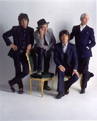 The Rolling Stones circa 2005