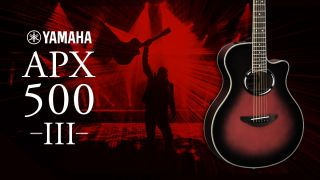 Available in Oriental Blue Burst, Dusk Sun Red, Natural, Black and Vintage Sunburst, the new APX500III is available now.