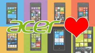 Acer: 'We'd love to do a Windows Phone 8 handset'