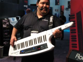 Roland's Keytar makes a triumphant return