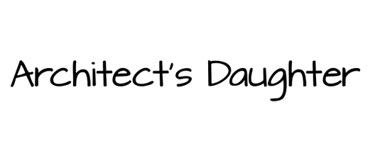 Free handwriting fonts: Architect's Daughter