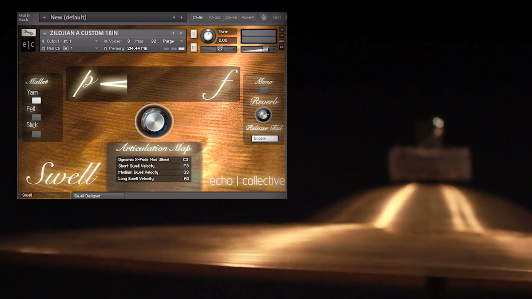 Software instrument Swell to deliver virtual cymbals | MusicRadar