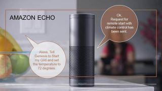 Amazon Echo and Genesis G90 integration